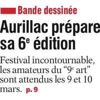 L'Union du Cantal du 02 mars (glissé(e)s)