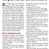 L'Union du Cantal du 16 mars (glissé(e)s)