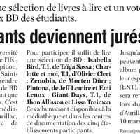 L'Union du Cantal du 2-5 janvier (glissé(e)s)