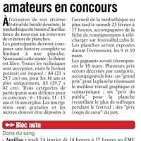 L'Union du Cantal du 9 janvier (glissé(e)s)